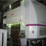 UV dryer for rotogravure printing machine