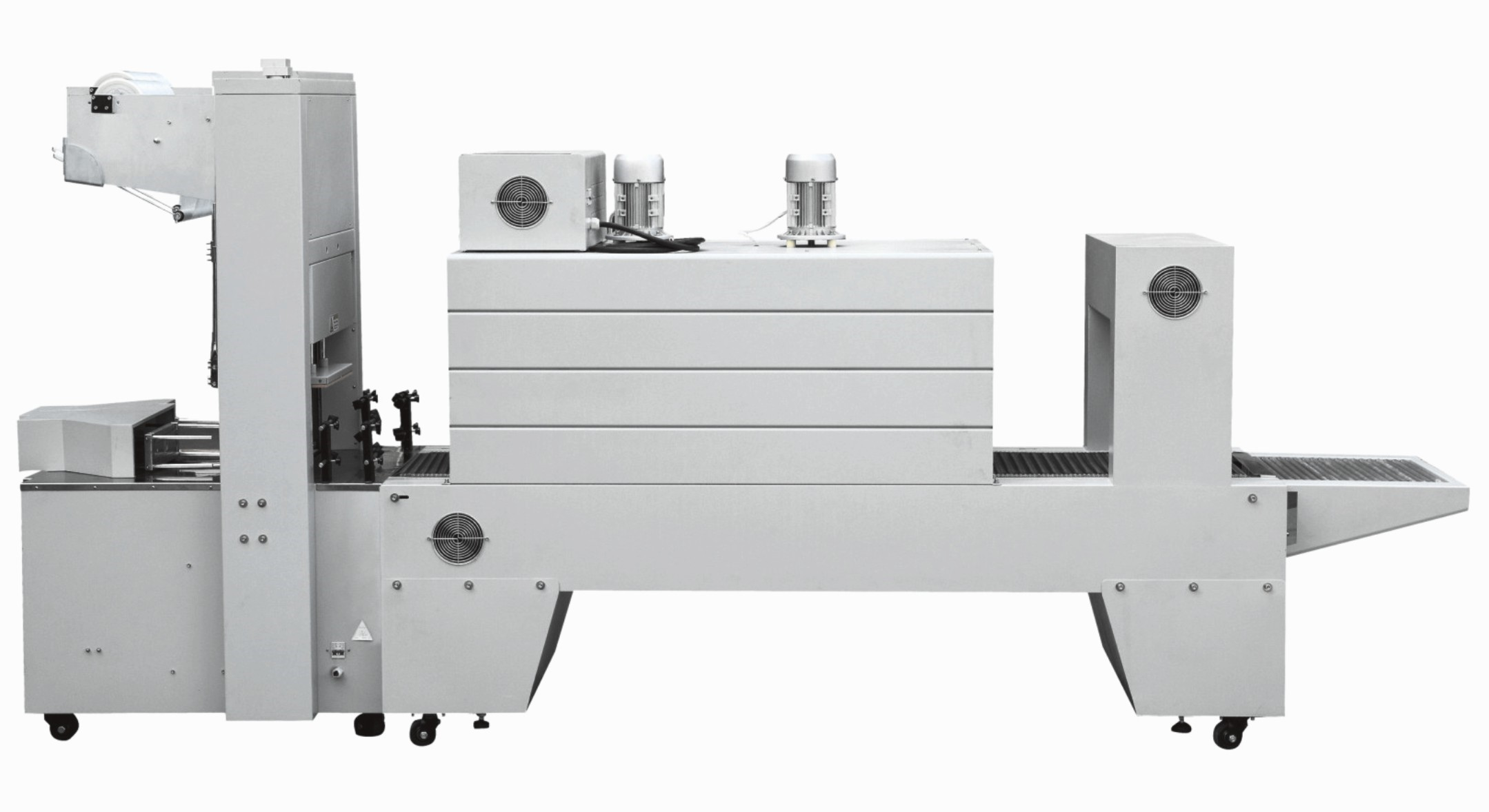 HALF AUTOMATIC OVERWRAP SHRINKING MACHINE